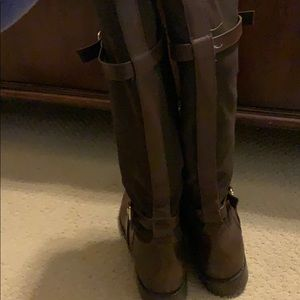Cole Haan Shoes - Cole Haan Chocolate Brown Riding Boots